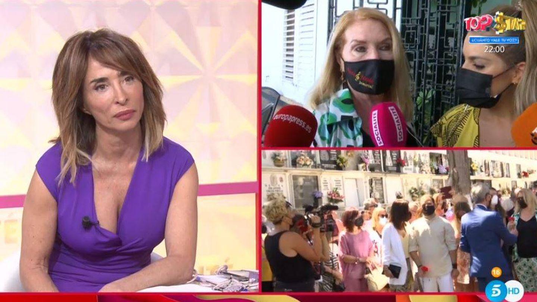 María Patiño conecta con Gloria Mohedano en 'Socialité'. (Mediaset)