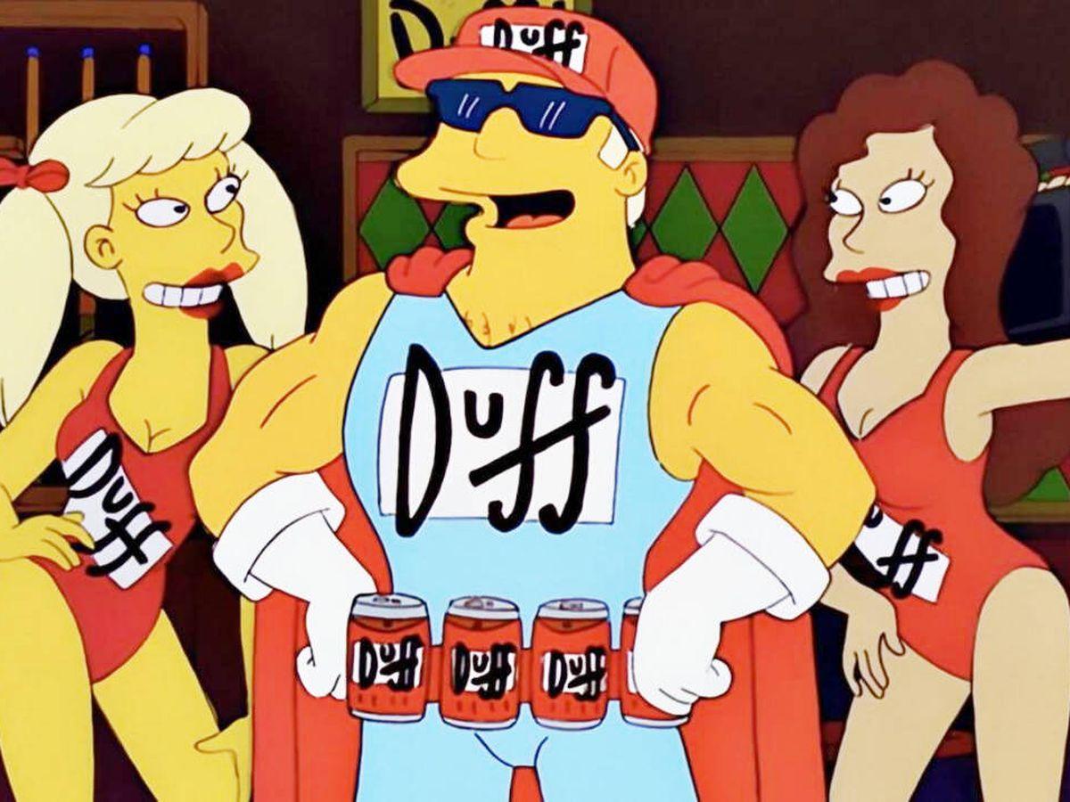 Foto: 'Duffman' en 'Los Simpson'