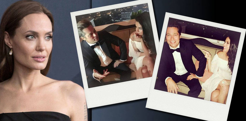 Selena Gomez ya desencadenó un episodio de celos de Angelina Jolie con Brad Pitt
