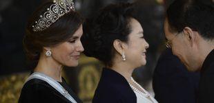 Post de La reina Letizia estrena la tiara rusa, la única del joyero real que le quedaba por lucir