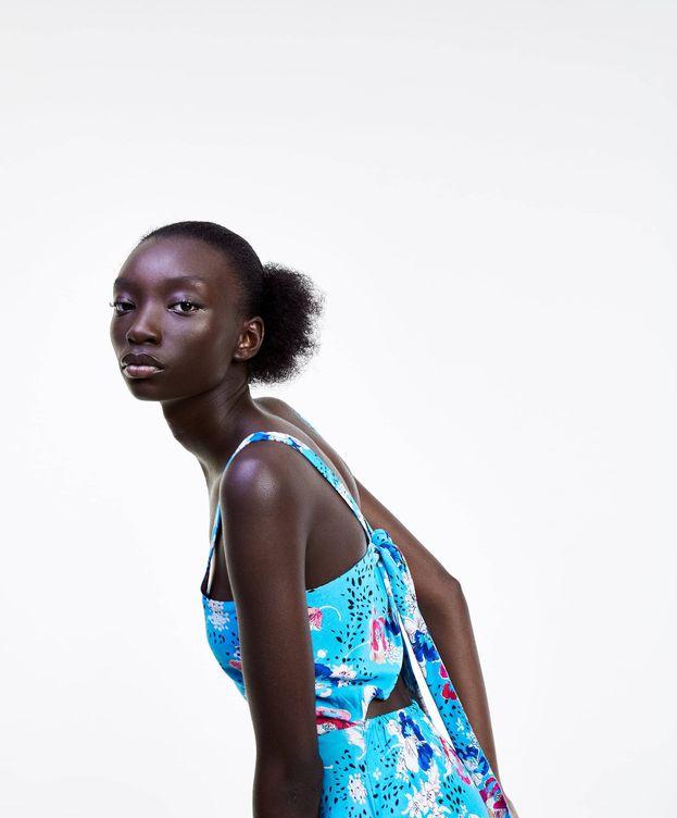 Foto: El vestido más favorecedor de Zara. (Cortesía)