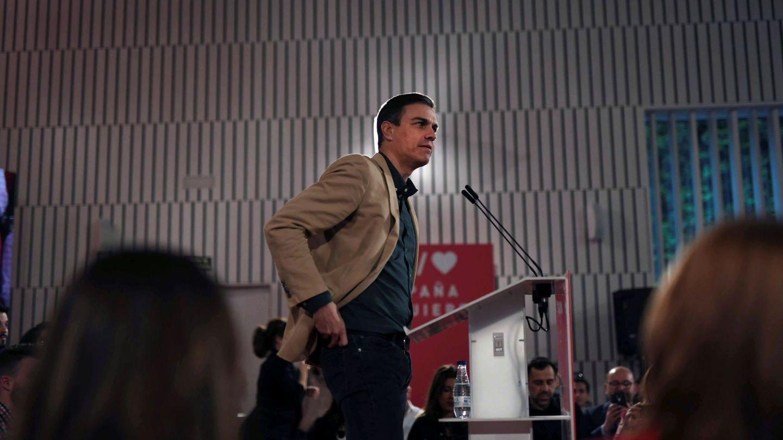 El secretario general del PSOE y presidente del Gobierno, Pedro Sánchez. (EFE)