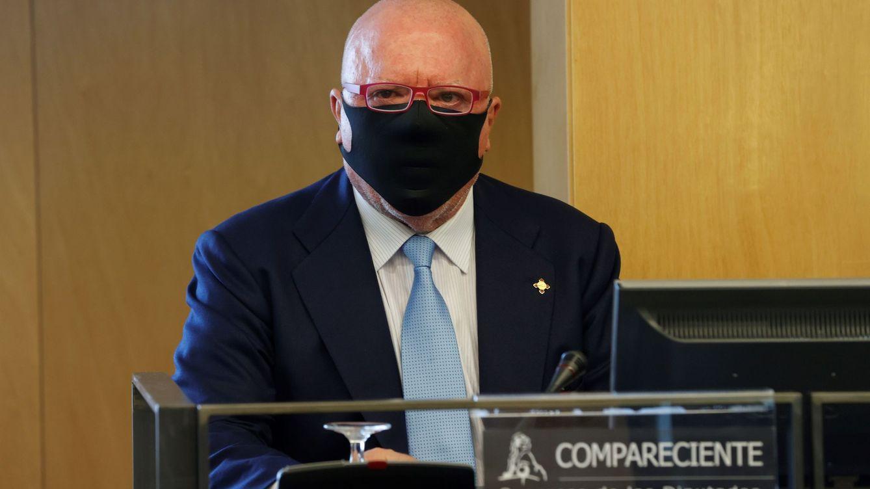 Villarejo dice en el Congreso que informaba directamente a Rajoy por Kitchen