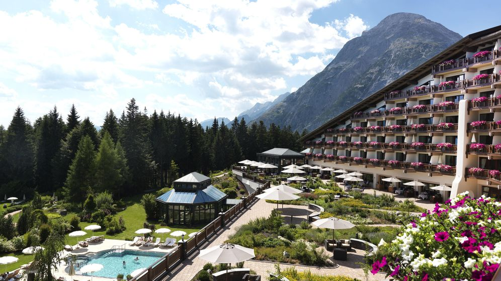 Foto: El lujoso Hotel Interalpen en el que se celebrará la reunión de este año.