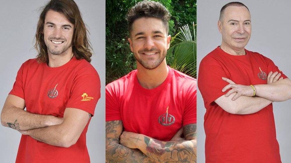 Foto: Los tres nuevos nominados de 'Supervivientes 2018'. (Telecinco)