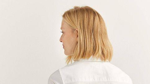 Esta camisa blanca de Springfield es la que buscan las chicas que huyen del corte oversize