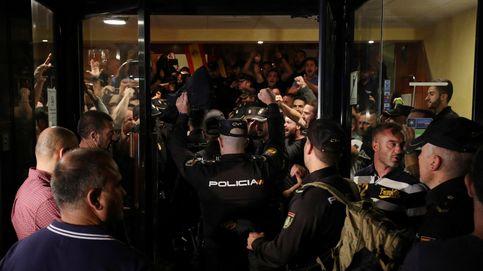 Por orden del presidente del Gobierno, nos quedamos: así se para el desalojo en Pineda