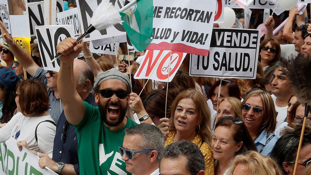 Spiriman: Susana Díaz ha caído y la sanidad volverá a ser la joya de la corona