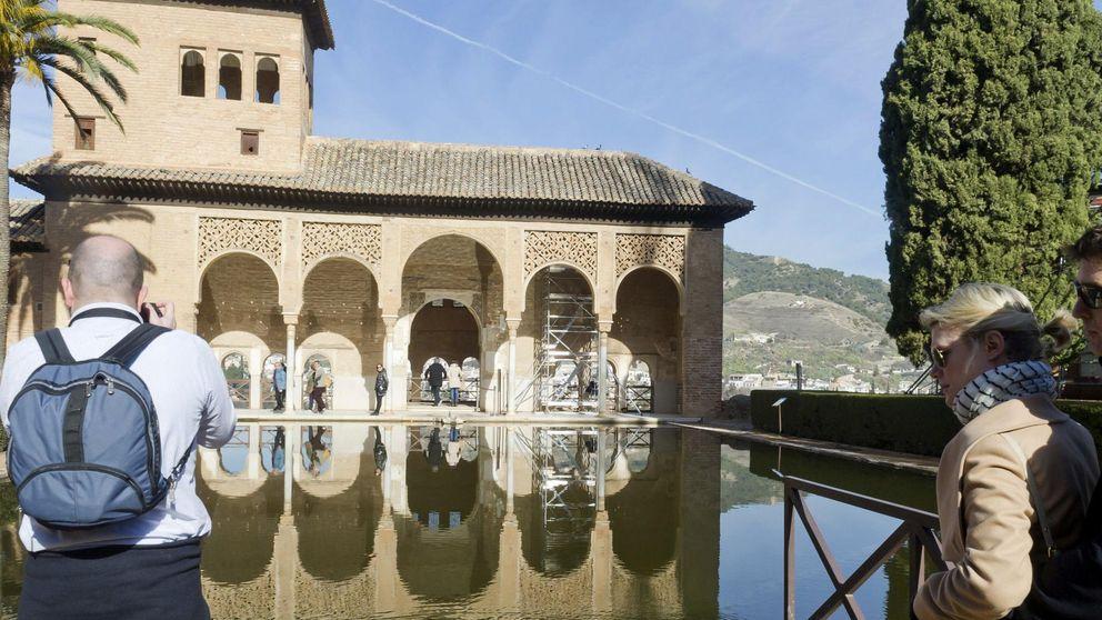 La Alhambra bate el récord de visitas con 2,4 millones de turistas