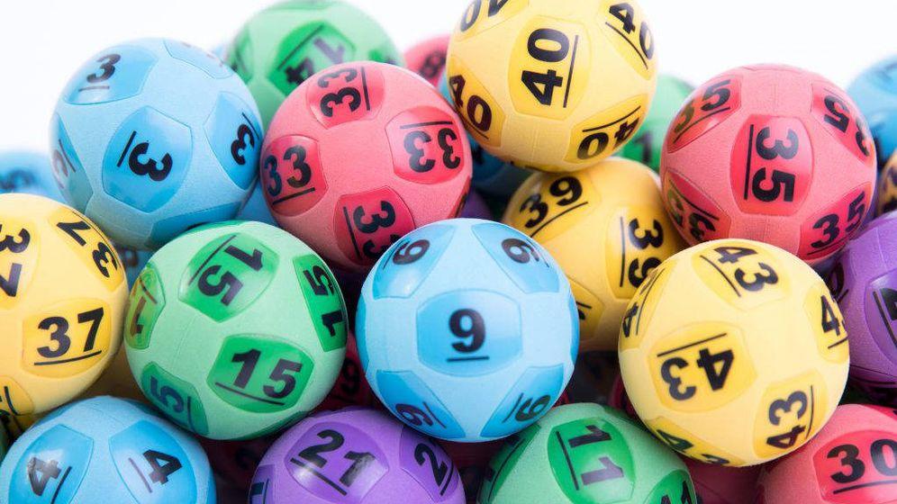 Foto: Bolas usadas en los sorteos de la lotería australiana. Foto: The Lott.