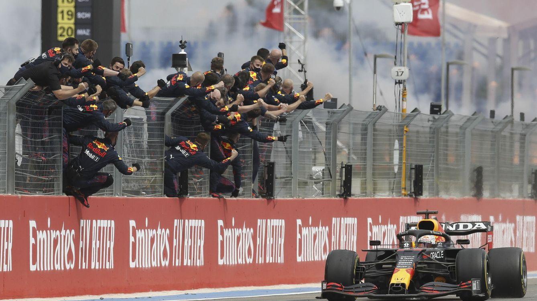 Por qué Red Bull y Verstappen tienen a tiro a Hamilton y Mercedes como nunca desde 2014