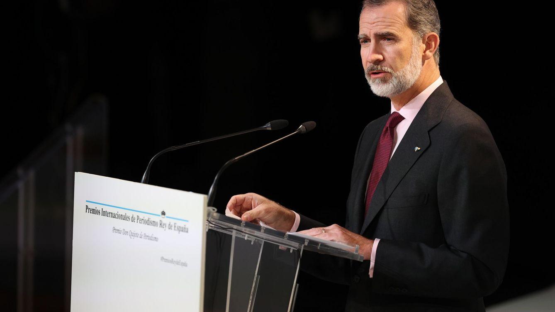 Felipe VI: En estos tiempos de crisis, el periodismo es especialmente necesario