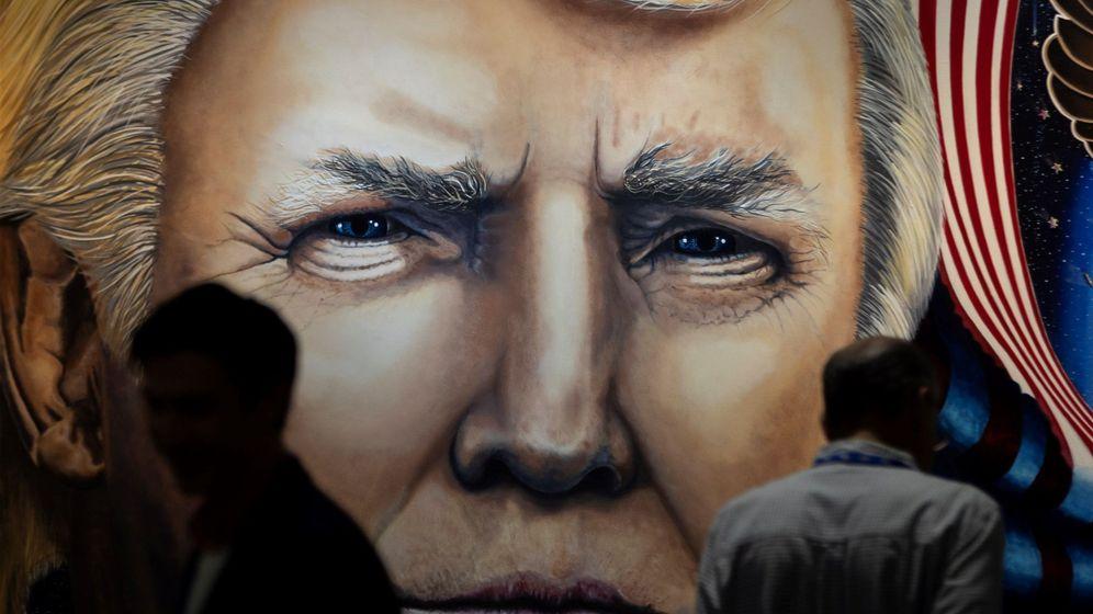 Foto: Retrato de Donald Trump, en Maryland, EEUU. (EFE)