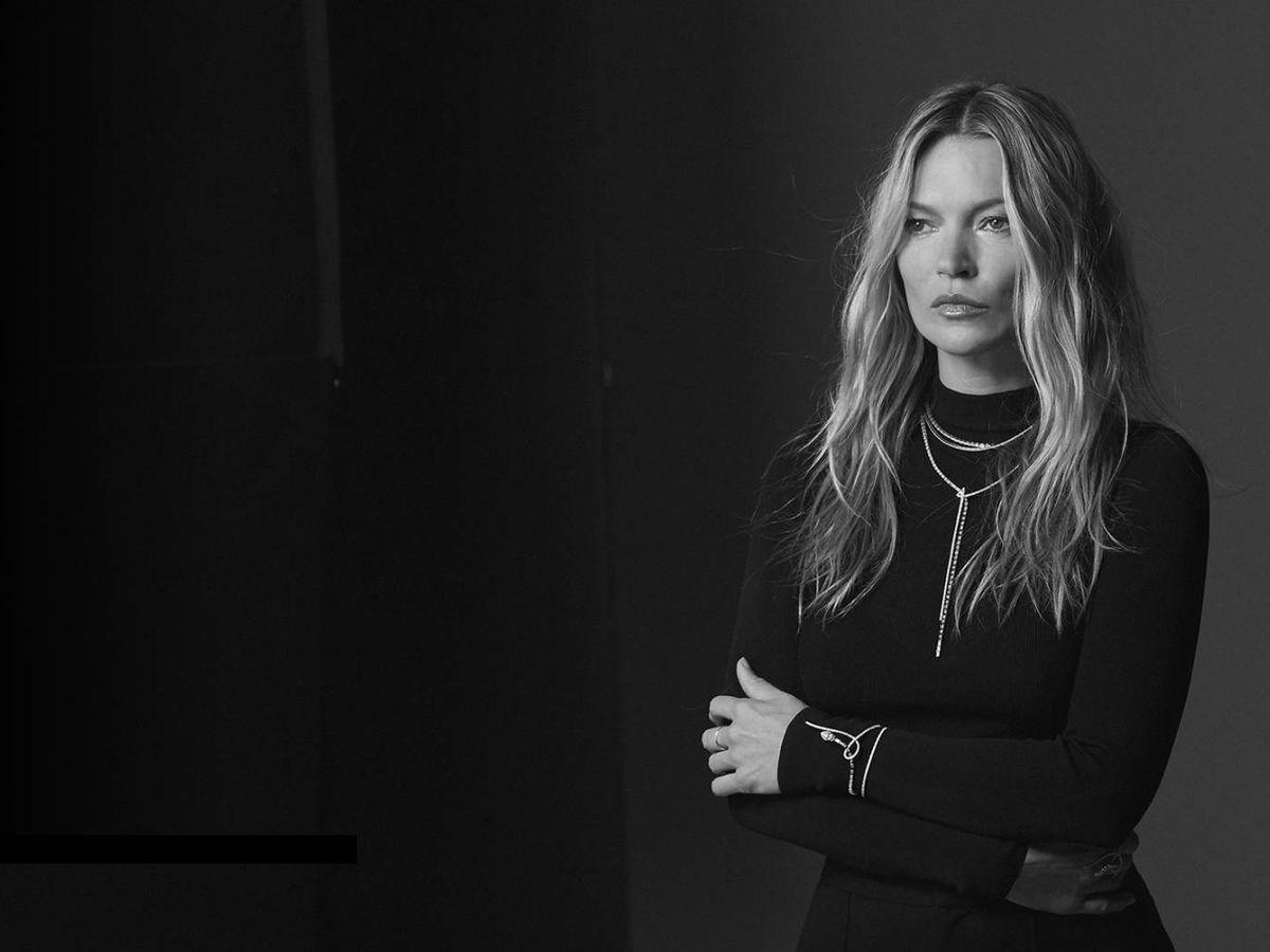 Foto: Kate Moss. (Imagen: Messika)