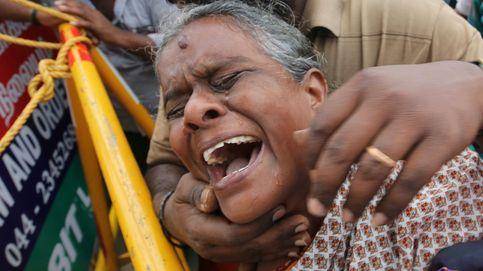 Homenaje a la política índia Jayalalithaa Jayaram