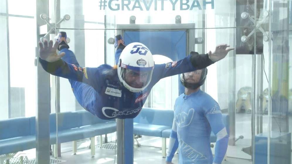 Foto: Carlos Sainz tuvo la oportunidad de practicar paracaidismo junto a su compañero de equipo Lando Norris.