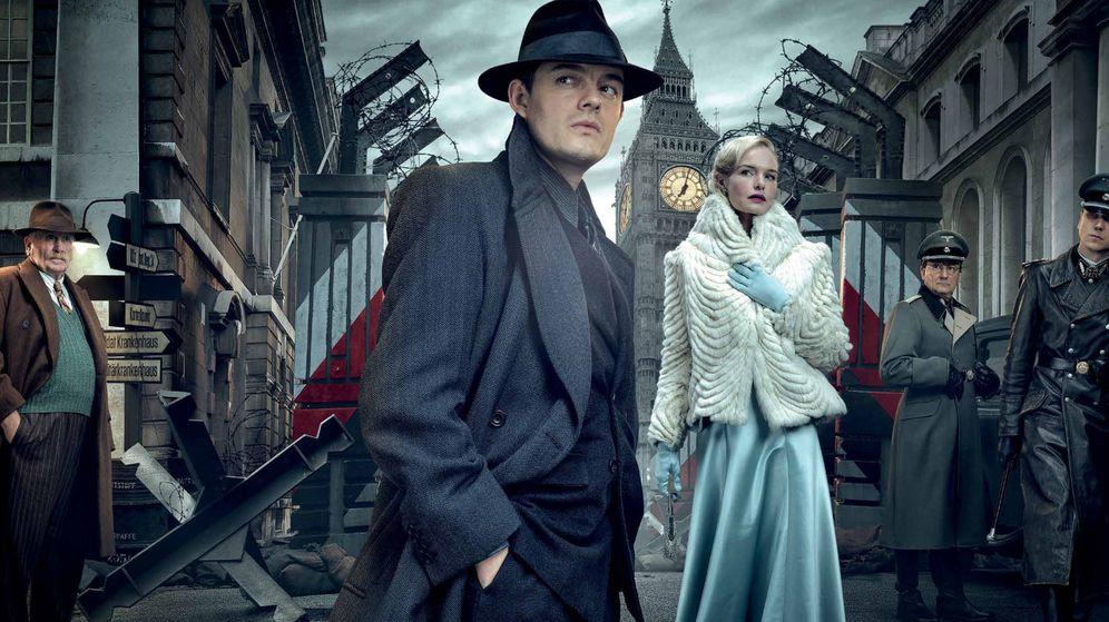 Foto: Montaje con los personajes de la serie de BBC 'SS-GB'