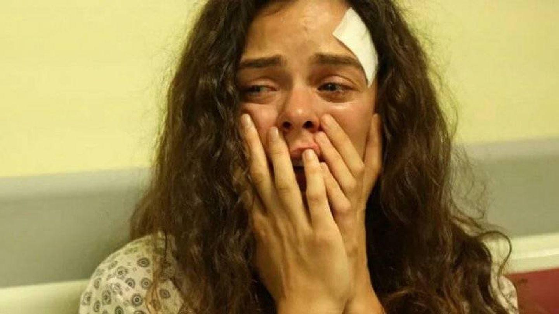 Bahar, en una secuencia de la serie 'Mujer'. (Atresmedia)