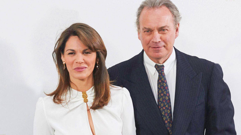 Fabiola Martínez y Bertín Osborne, en una imagen de archivo anterior al anuncio de su separación. (Getty)