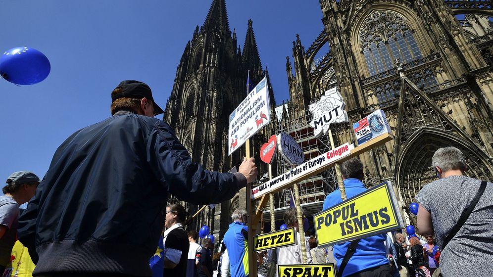 Foto: Manifestación en Alemania bajo el lema 'Pulso a Europa'