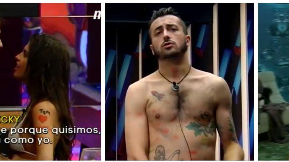 Televisión Gh 16 Sofía Y Ricky Siguen Cariñosos Pese A La Bronca
