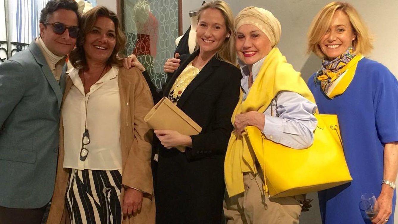 Foto: Así fue la fiesta de inauguración de la tienda de Adela Penedo y Viki Orgaz
