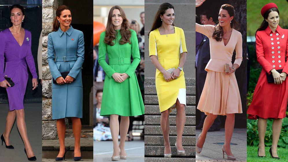 Foto: La duquesa de Cambridge y sus 'looks' alrededor del mundo