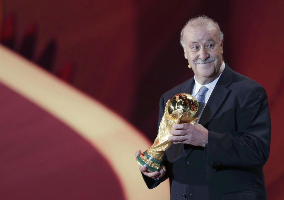 Foto: Vicente del Bosque asegura que a Brasil podrían ir jugadores que aún no han debutado con España.