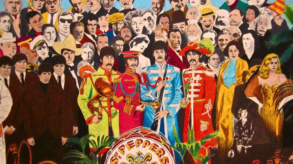 Foto: Portada del 'Sgt. Pepper's' de The Beatles