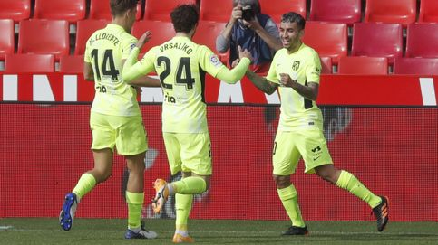 El Atlético exhibe puño de hierro en Granada con los goles de Llorente y Correa (2-1)