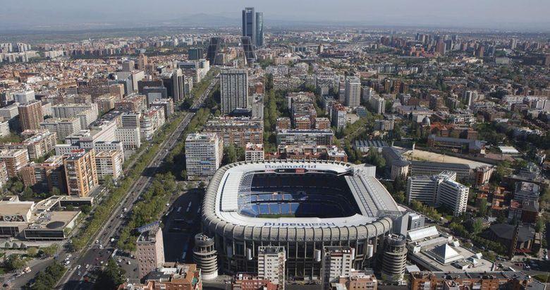 Foto: Vista aérea de Madrid