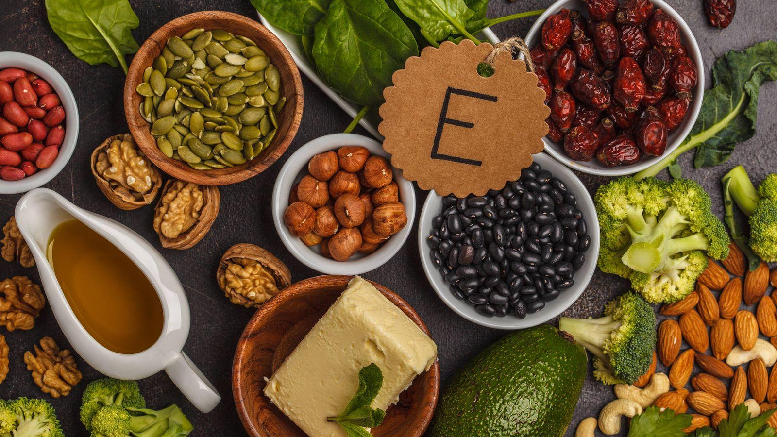 20 alimentos con alto contenido de vitamina E