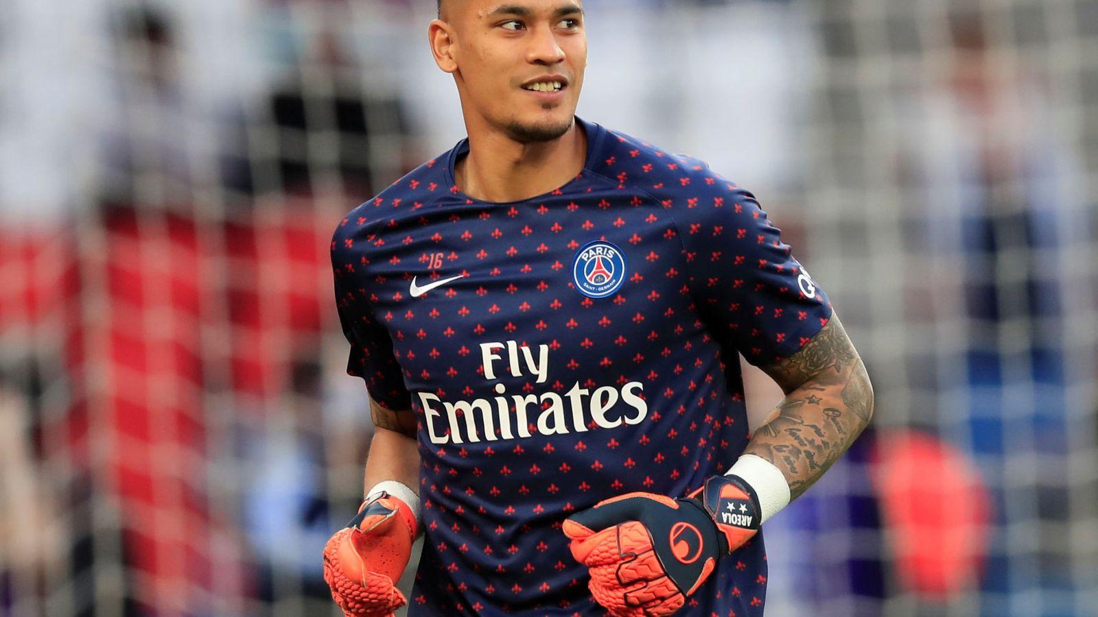 Foto: Alphonse Areola, en un partido con el Paris Saint-Germain. (EFE)