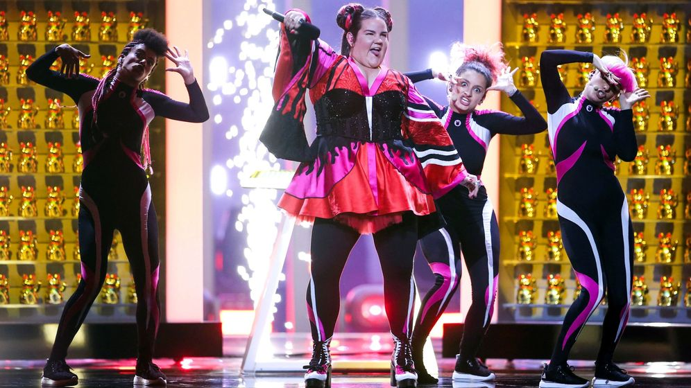 Foto: Netta ganó Eurovisión 2018 con la canción Toy. (Efe)