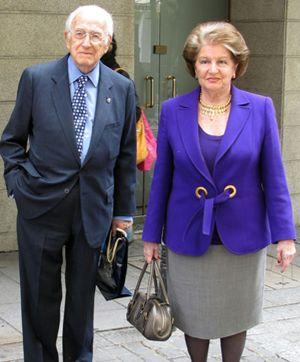 Homenaje a Mingote, el hombre que hace reír a la reina Sofía