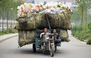 El negocio del reciclaje: China  aprovecha la chatarra de Occidente
