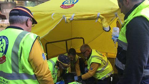 Herida de gravedad una joven tras ser atropellada por un autobús en Madrid