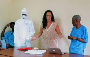 Una doctora española explica cómo se vive día a día en la zona del ébola