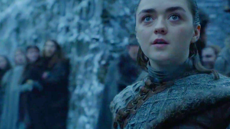 Arya Stark. en la última temporada de 'Juego de Tronos'. (HBO)
