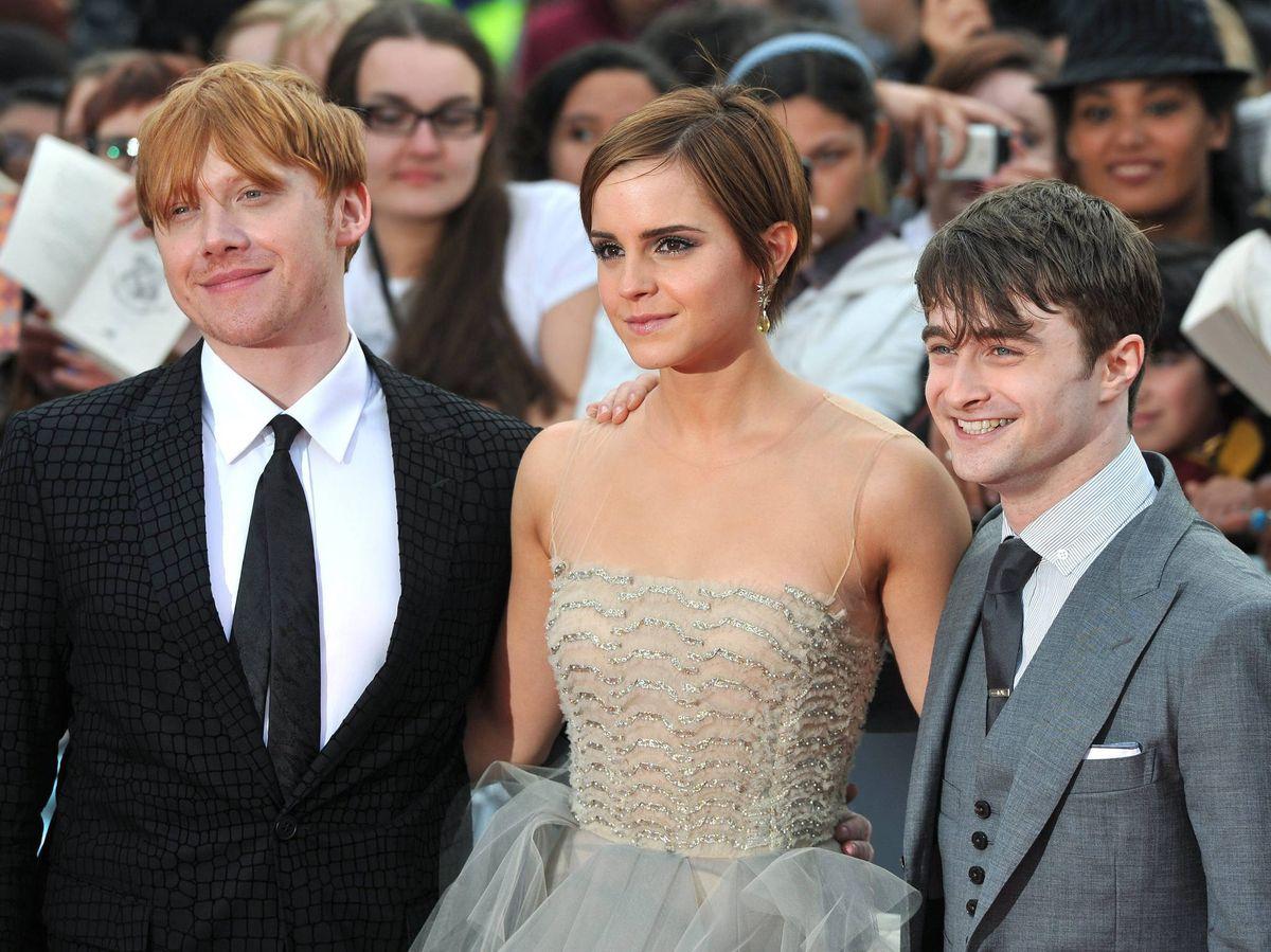Foto: Los protagonistas de 'Harry Potter'. (EFE)