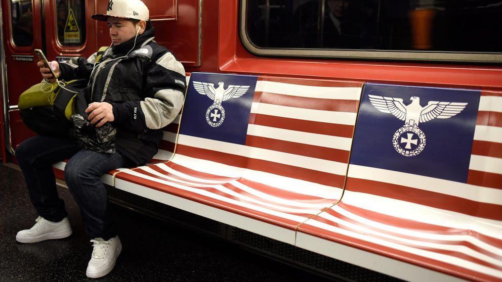 Amazon decide que empapelar Nueva York con simbología nazi no es una buena idea
