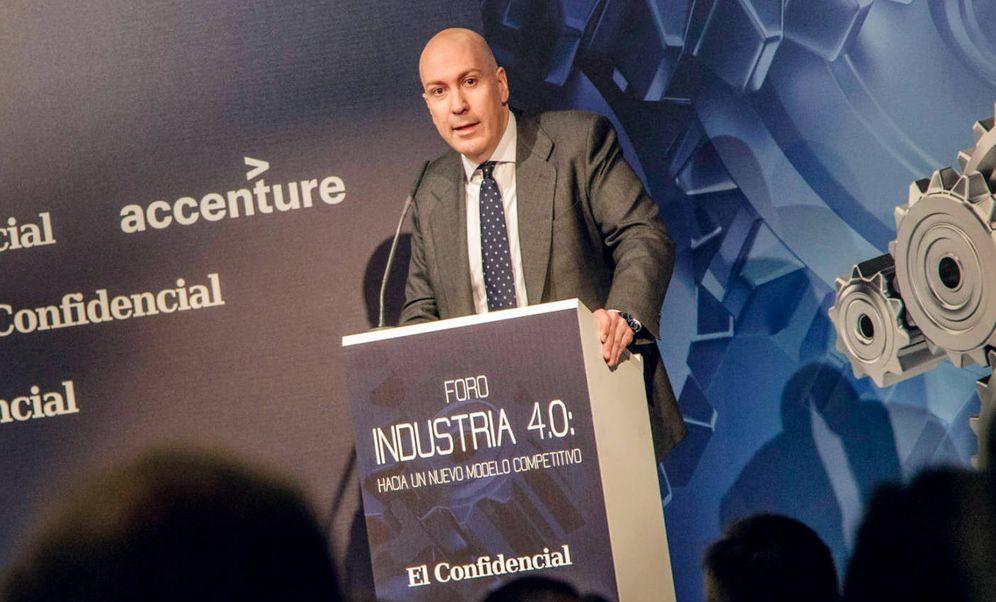 Foto: Nacho Cardero, director de El Confidencial. (Foto: Jorge Álvaro Manzano)