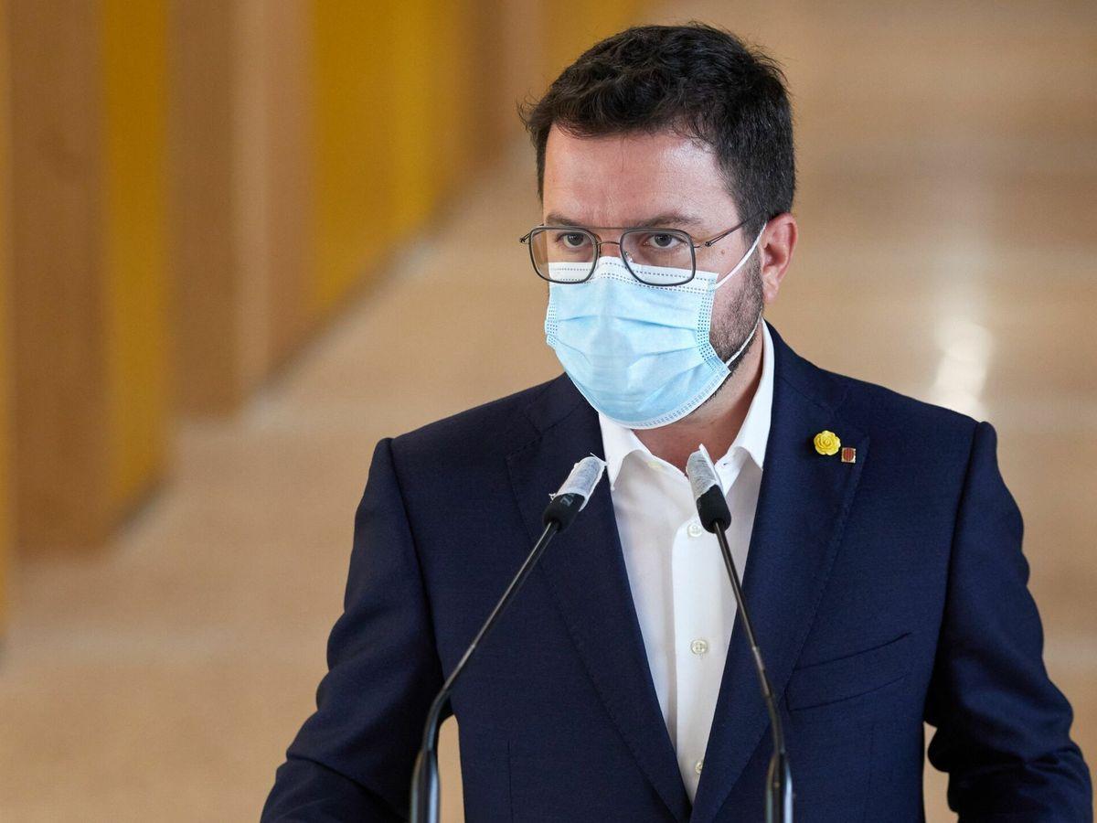 Foto: El 'president' de la Generalitat, Pere Aragonès. (EFE)