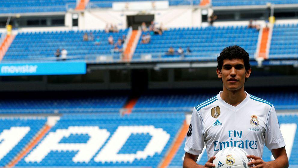 Jesús Vallejo, el único joven prometedor que no ha caído de pie en el Real Madrid