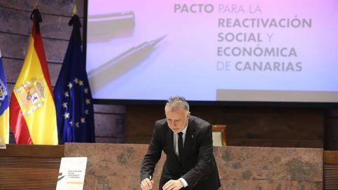 Canarias cierra el primer pacto para la reactivación económica y social por el covid