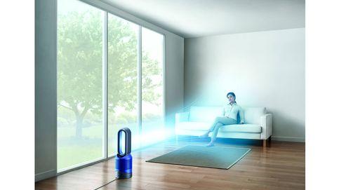 El nuevo purificador de Dyson, de calefactor a ventilador en un solo paso