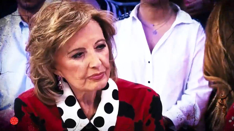 María Teresa Campos, en 'Aquellos maravillosos años'. (Telemadrid)