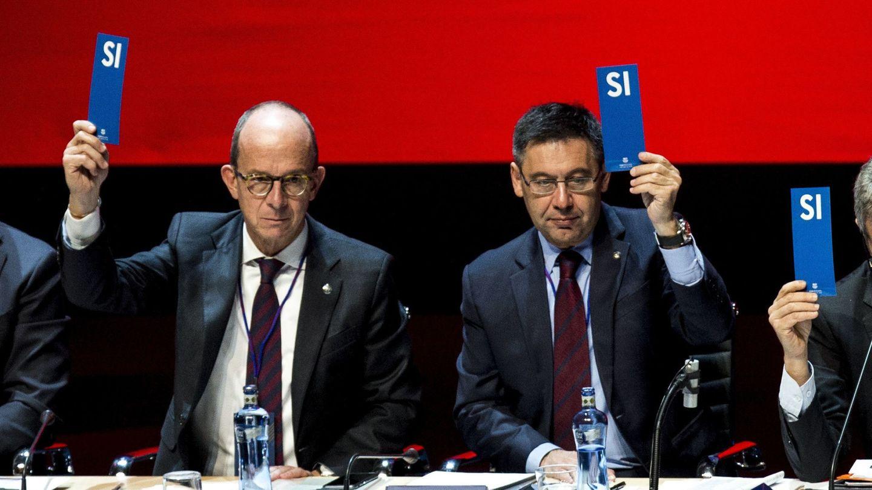 Cualquier modificación de los Estatutos del FC Barcelona tiene que ser refrendado por la asamblea de socios. (EFE)