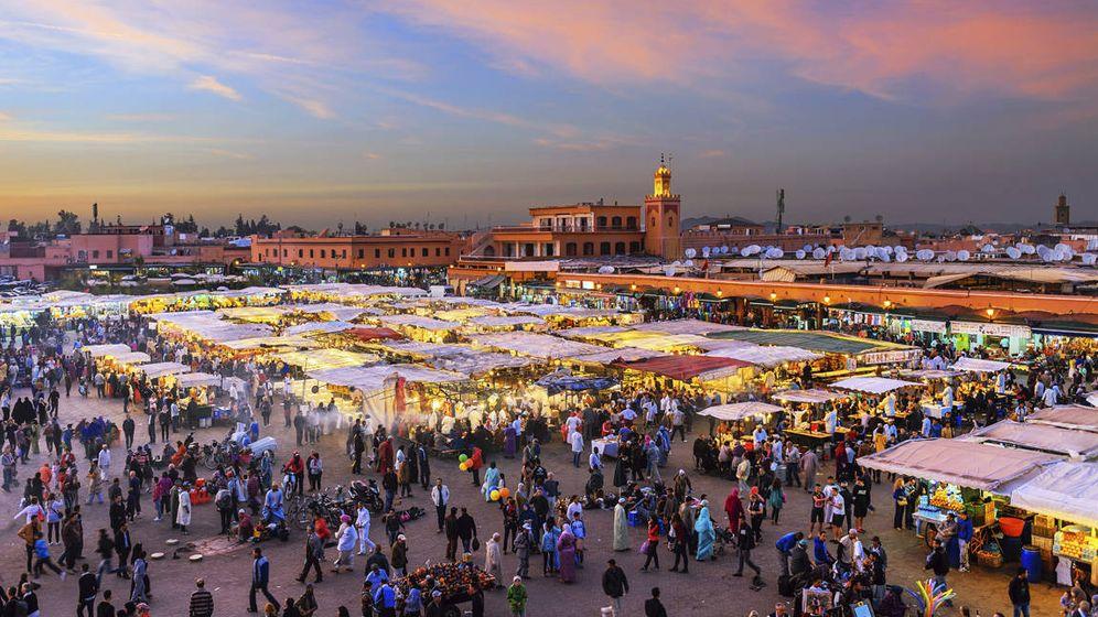 Foto: Plaza Jamaa El Fna, en Marrakech, Marruecos (iStock)