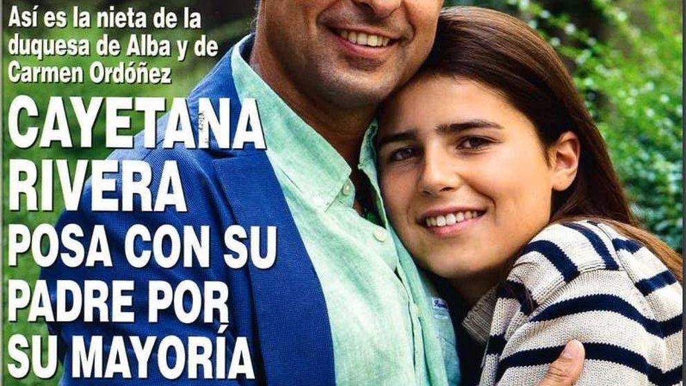 Tana Rivera, primer posado (sin entrevista ni exclusiva) por su cumpleaños